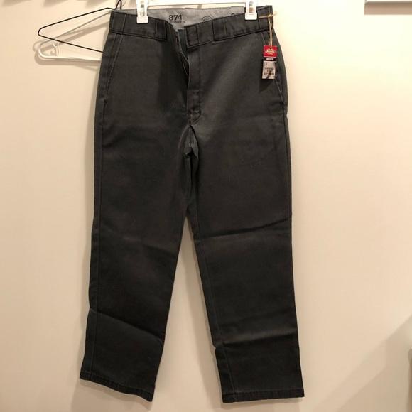 e50c8d145d7 Dickies Pants   Original 874 Work Pant In Charcoal   Poshmark